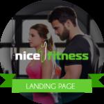 Создание сайта фитнес-клуба NiceFitness